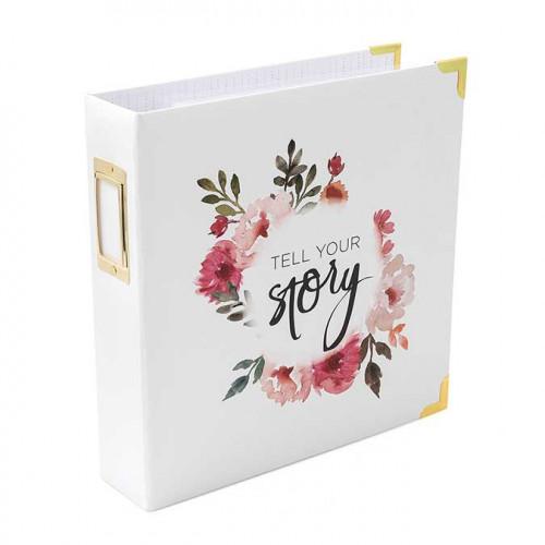Storyline Album à 3 anneaux 22 x 28 cm Couronne de Fleurs