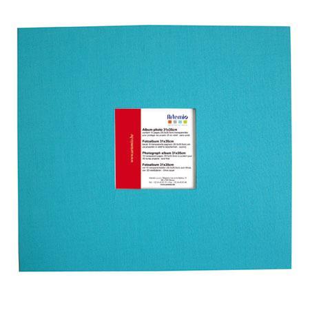 Album à vis - turquoise - 30 x 30 cm