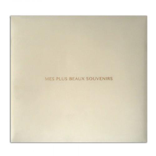 Album à vis - Mes plus beaux souvenirs - ivoire - 30 x 30 cm