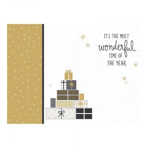 Album à anneaux 30,5 x 30,5 cm First Noël