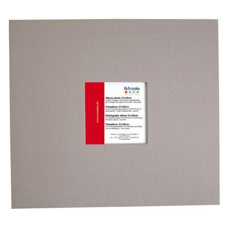 Album à vis - gris clair - 30 x 30 cm