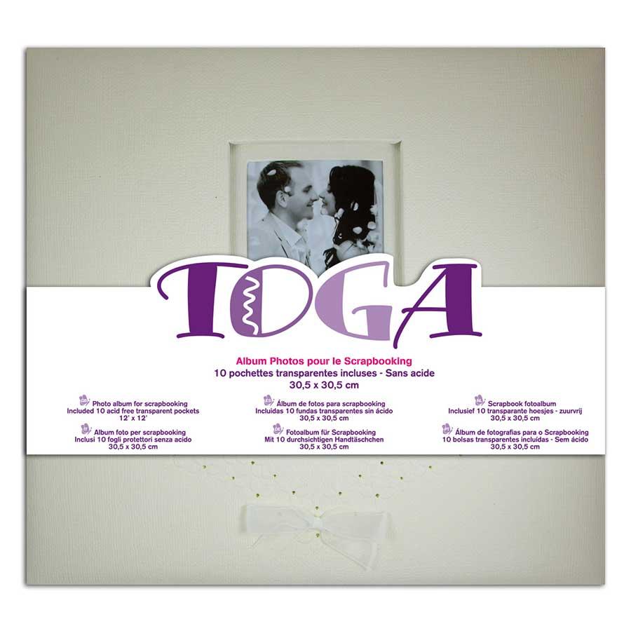 Album à vis - Mariage - ivoire - 30 x 30 cm