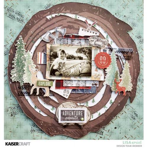 Album à 3 anneaux Mountain Air