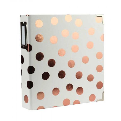 Album Classeur Copper à anneaux - 15 x 20 cm