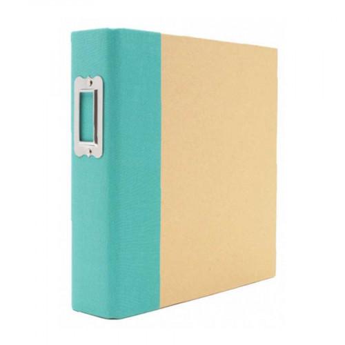 Album SN@P! 15 x 20 cm - turquoise / kraft