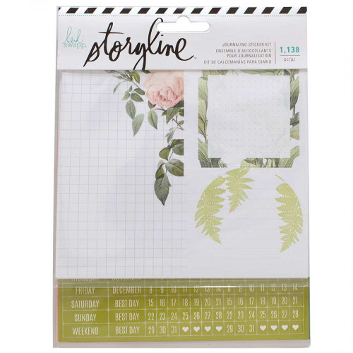 Stickers pour planner Botanique - 1138 pcs