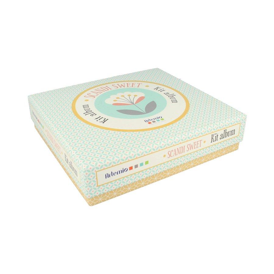 Kit de Scrapbooking - Scandisweet - 20 x 20 cm