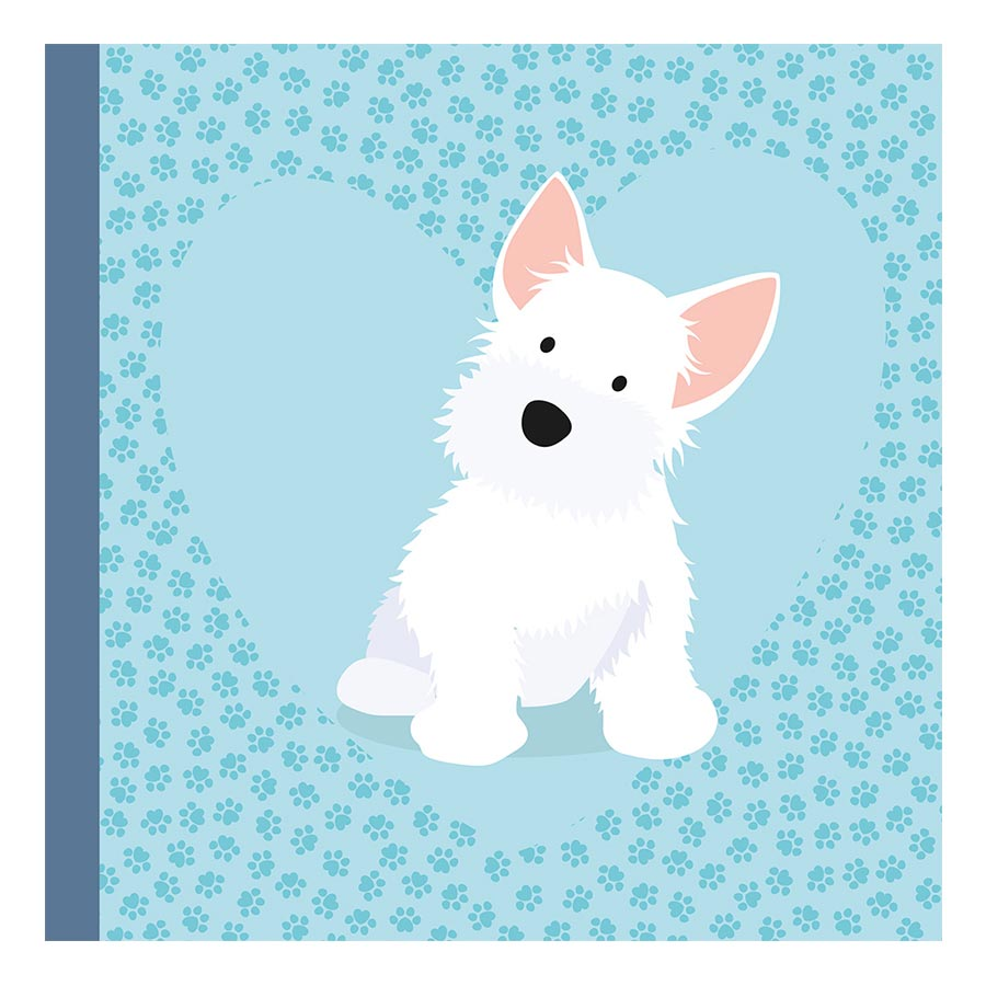 Kit album Family Friends Chiens - 20 x 20 cm
