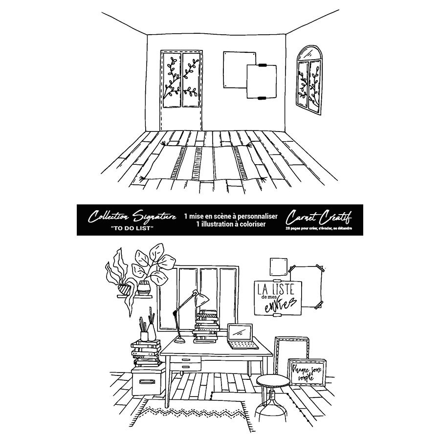 Carnet créatif #1 collection Signature