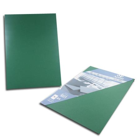 1001 - 5 cartes A4 - racing green
