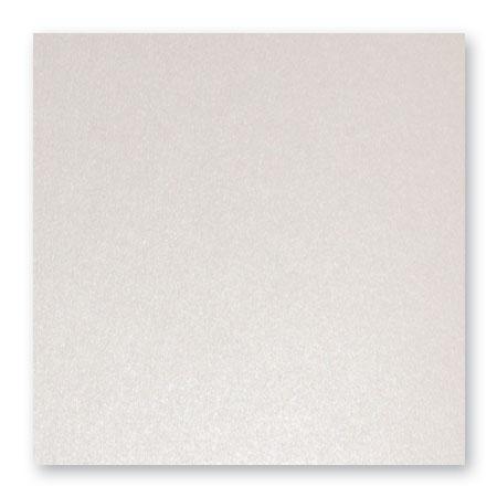 Pollen - 25 cartes carrées 13.5 x 13.5 cm - Blanc irisé