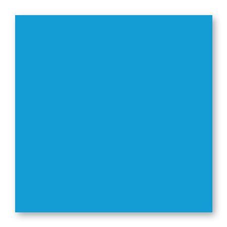 Pollen - 25 cartes carrées 13.5 x 13.5 cm - Bleu turquoise