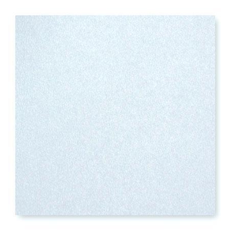 Pollen - 25 cartes carrées 16 x 16 cm - Bleu irisé