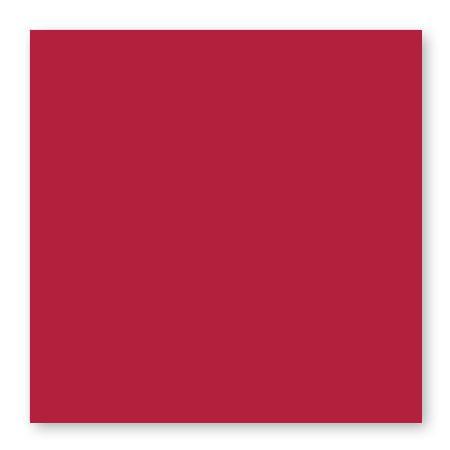 Pollen - 25 cartes carrées 16 x 16 cm - Rouge groseille