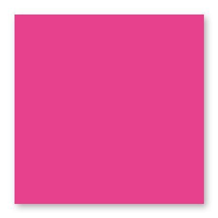 Pollen - 25 cartes carrées 13.5 x 13.5 cm - Rose fuchsia