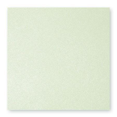 Pollen - 25 cartes carrées 16 x 16 cm - Vert irisé