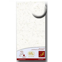 Eclat d'Or - 20 cartes doubles - blanc