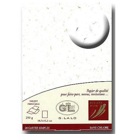 Eclat d'Or - 20 cartes - blanc