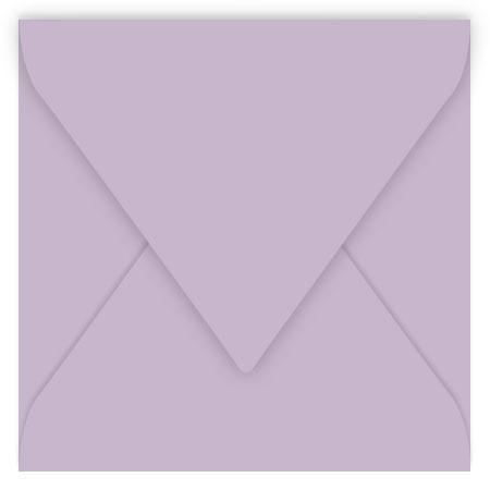 Pollen - 20 enveloppes carrées 16.5 x 16.5 cm - Glycine