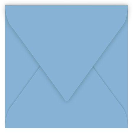 Pollen - 20 enveloppes carrées 14 x 14 cm - Bleu lavande