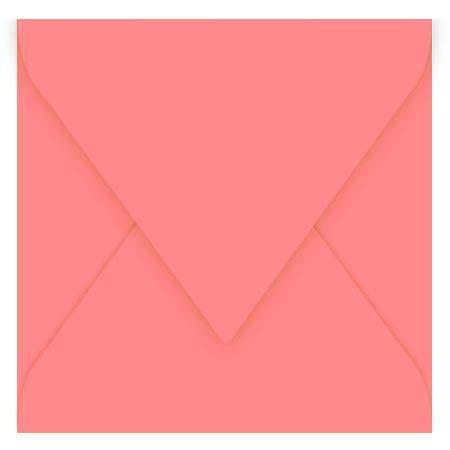 Pollen - 20 enveloppes carrées 14 x 14 cm - Litchi