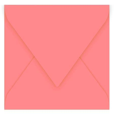 Pollen - 20 enveloppes carrées 16.5 x 16.5 cm - Litchi
