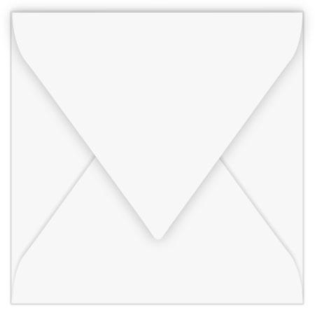 Pollen - 20 enveloppes carrées 14 x 14 cm - Blanc