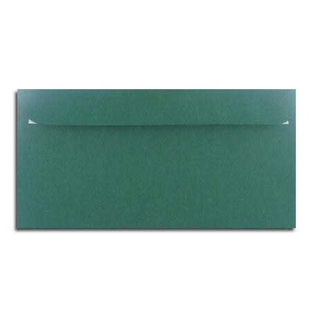 1001 - 5 enveloppes 11.4 x 22.3 cm - racing green