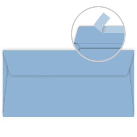 Pollen - 20 enveloppes rectangulaires 9 x 14 cm - Bleu lavande