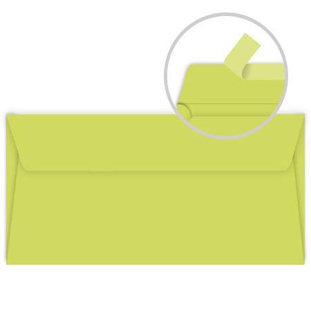 Pollen - 20 enveloppes rectangulaires 9 x 14 cm - Vert bourgeon