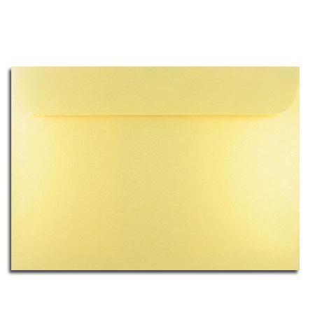 Perle - 5 enveloppes 16.2 x 22.9 cm - or