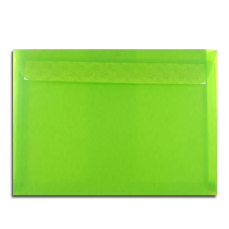 Perga pastell - 5 enveloppes 16.2 x 22.9 cm - limon