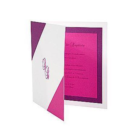 Vergé de France - 25 enveloppes doublées - extra blanc