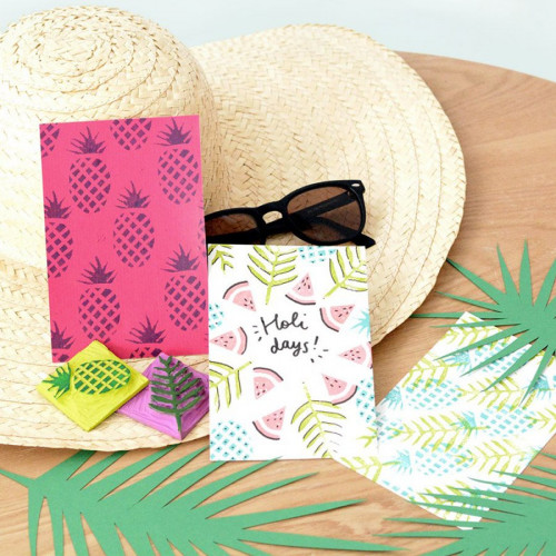 Mes Kits Make It - Cartes Tropicales