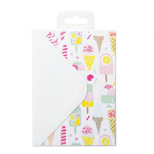 Magical Summer - Kit cartes et enveloppes - 12 pcs
