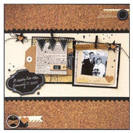 DIY Shop - A2 Cards & Envelopes - Chalkboard - 12 cards/12 envelopes