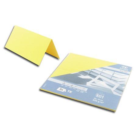1001 - 5 marque places - jaune clair