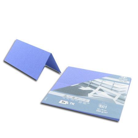 1001 - 5 marque places - bleu violet