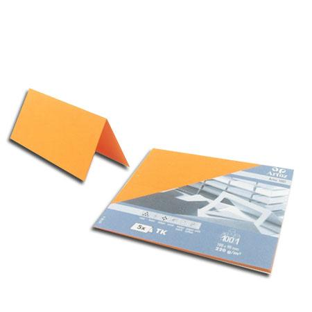 1001 - 5 marque places - orange