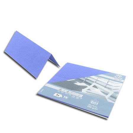1001 - 5 marque places - bleu bleuet