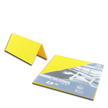 1001 - 5 marque places - jaune soleil