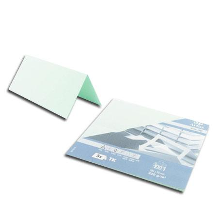 1001 - 5 marque places - vert clair