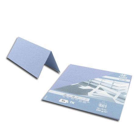 1001 - 5 marque places - bleu colombe