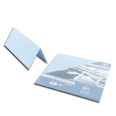 1001 - 5 marque places - bleu pastel