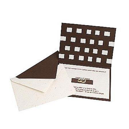 Eclat d'Or - 20 marque-places - blanc