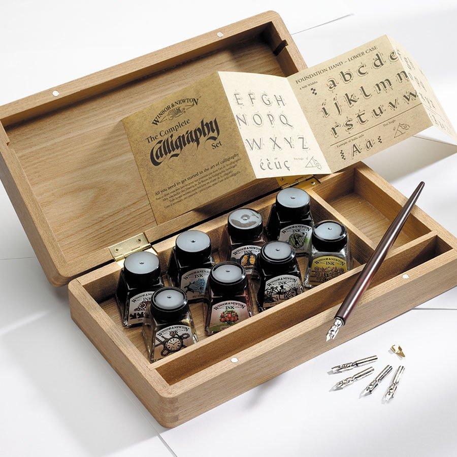 Coffret bois Calligraphie
