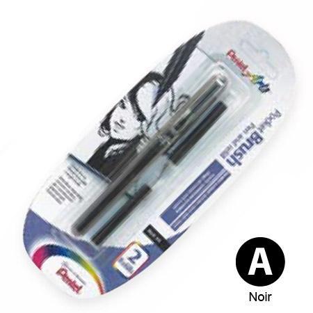 Pocket brush - Stylo pinceau rechargeable noir