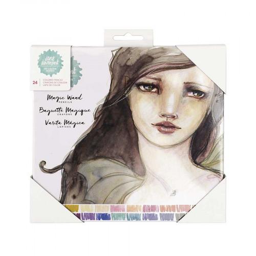 Crayons de couleur Baguette Magique - 24 pcs