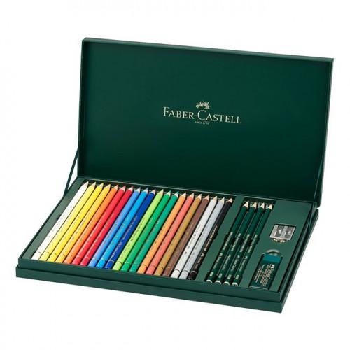 Coffret cadeau crayons de couleur Polychromos