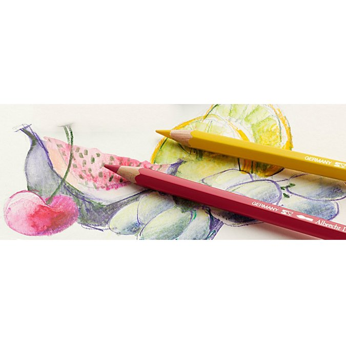 Coffret en bois d 72 crayons de couleur aquarellables Albrecht Dürer